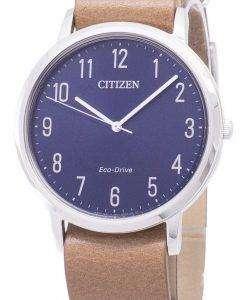 市民エコ ・ ドライブ BJ6501-10 L アナログ メンズ腕時計