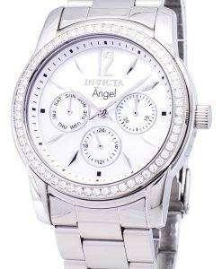 インビクタ天使 11768 水晶ダイヤモンド アクセント レディース腕時計