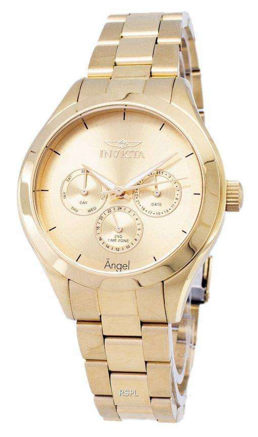 インビクタ天使 12466 アナログ クオーツ レディース腕時計