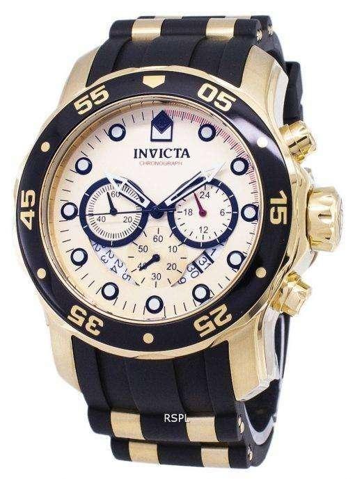 インビクタ Pro 17566 ダイバー クロノグラフ クォーツ メンズ腕時計