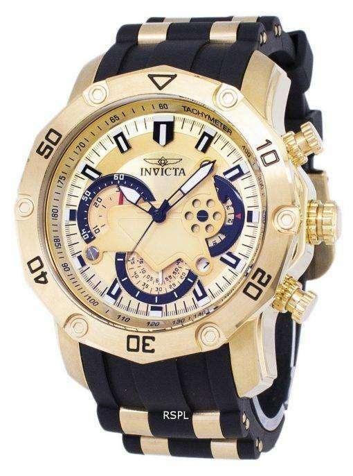 インビクタ Pro 23427 ダイバー クロノグラフ クォーツ メンズ腕時計