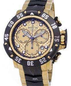 インビクタ水中 23805 クロノグラフ クオーツ 500 M メンズ腕時計