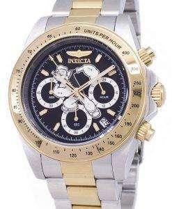 インビクタ文字コレクション 24484 ポパイ限定版クロノグラフ 200 M メンズ腕時計