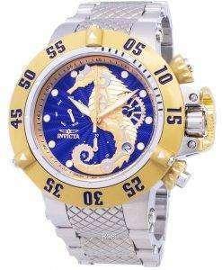 インビクタ水中 26227 クロノグラフ クオーツ 500 M メンズ腕時計
