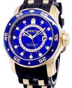 インビクタ Pro 6993 ダイバー GMT アナログ クオーツ メンズ腕時計