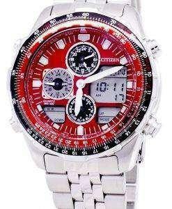 市民プロマスター JN0120 85 X クロノグラフ クォーツ メンズ腕時計