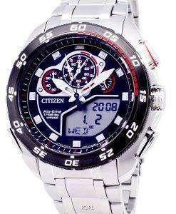 市民プロマスター エコ ・ ドライブ JW0124 53E クロノグラフ 200 M メンズ腕時計