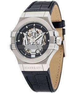 マセラティ ポテンザ R8821108001 自動メンズ腕時計腕時計