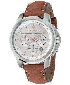 マセラティ Successo R8871621005 クロノグラフ クォーツ メンズ腕時計