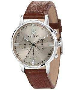 マセラティ Eleganza R8871630001 クロノグラフ クォーツ メンズ腕時計