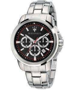マセラティ Successo R8873621009 クロノグラフ クォーツ メンズ腕時計