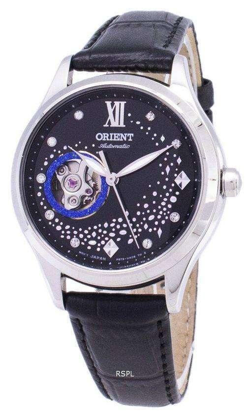 オリエント自動 RA AG0019B10B オープン ハート ダイヤモンド アクセント女性の時計