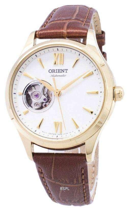 エレガントな RA AG0024S10B 自動レディース腕時計をオリエントします。