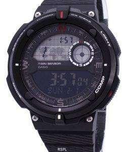 カシオ屋外 SGW 600 H 1B ツイン センサー デジタル クオーツ メンズ腕時計