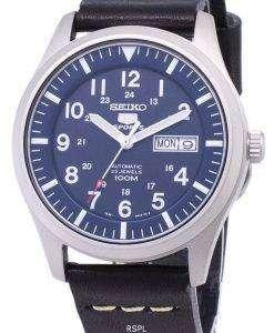 セイコー 5 スポーツ SNZG11K1 LS14 自動黒革ストラップ メンズ腕時計