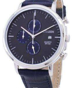 市民クロノグラフ AN3610-04 H クォーツ メンズ腕時計