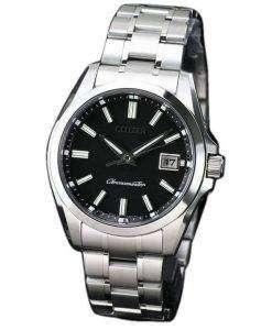 市民エコドライブ AQ4030 51E チタン アナログ メンズ腕時計