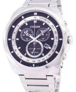 市民エコドライブ AT2150 51E クロノグラフ メンズ腕時計