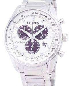 市民エコドライブ AT2390 82 a クロノグラフ メンズ腕時計