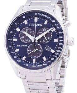 市民エコ ・ ドライブ AT2390-82 L クロノグラフ メンズ腕時計