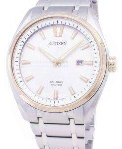 市民エコドライブ AW1244 56A チタン メンズ腕時計