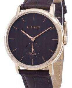 市民石英 BE9173 07 X アナログ メンズ腕時計