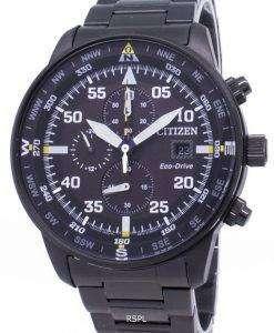 市民エコドライブ CA0695 された 84E クロノグラフ メンズ腕時計