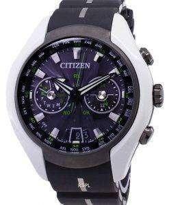 市民エコドライブ CC1064 01E 衛星波日本アナログ 200 M メンズ腕時計