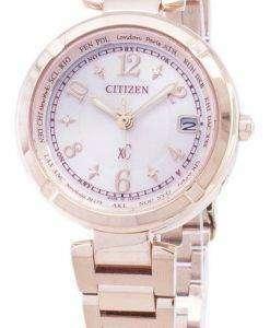 市民エコドライブ EC1118 51W ラジオ制御アナログ レディース腕時計日本