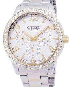市民クラシック ED8124-53 a クォーツ レディース腕時計