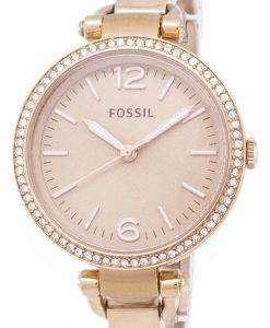 化石ジョージア華やかさバングル結晶 ES3226 レディース腕時計