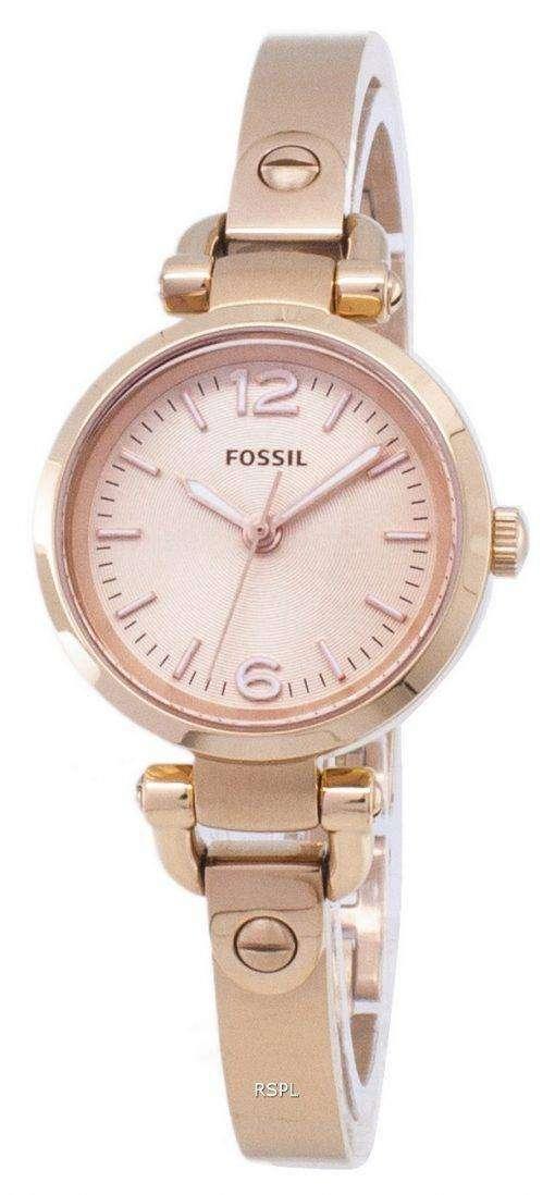 化石グルジア ミニ ローズ トーン ES3268 レディース腕時計