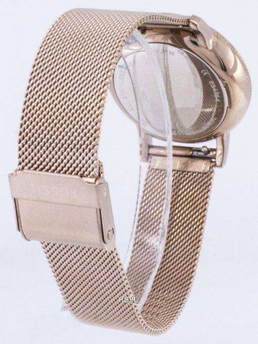 化石ニーリー水晶ダイヤモンド アクセント ES4364 レディース腕時計