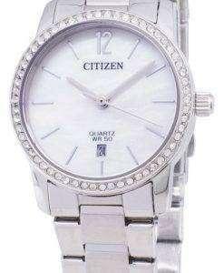 市民 EU6030-81 D 石英アナログ レディース腕時計