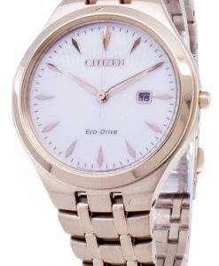 市民エコ ・ ドライブ EW2493-81B アナログ レディース腕時計