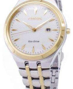 市民エコ ・ ドライブ EW2494-89B アナログ レディース腕時計