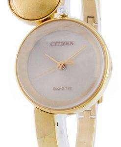 市民エコ ・ ドライブ EW5492-53 P アナログ レディース腕時計