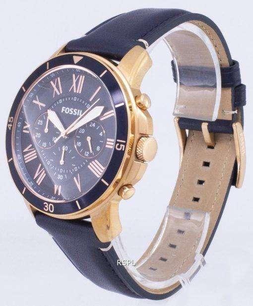 化石グラント スポーツ クロノグラフ クォーツ FS5237 メンズ腕時計