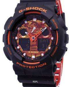 カシオ G-ショック-100BR-1 a GA100BR-1 a アナログ デジタル 200 M メンズ腕時計