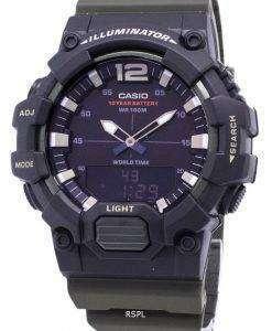 カシオ青年 HDC-700-3AV 照明器具石英アナログ デジタル メンズ腕時計
