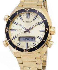 市民 JM5462-56 P 石英アナログ デジタル メンズ腕時計