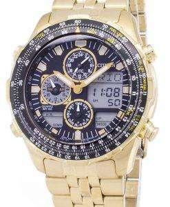 市民 Navihawk パイロット JN0122 80E クロノグラフ メンズ腕時計
