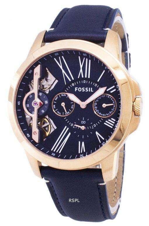 化石クロノグラフ ME1162 石英アナログ メンズ腕時計
