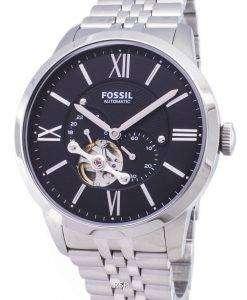 化石町民自動スケルトン ME3107 メンズ腕時計