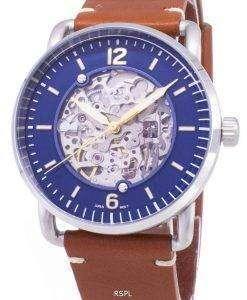 化石通勤 ME3159 自動アナログ メンズ腕時計腕時計