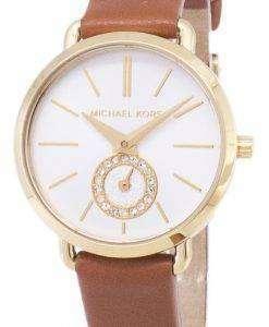 ミハエル Kors MK2734 ダイヤモンド水晶アナログ女性の腕時計