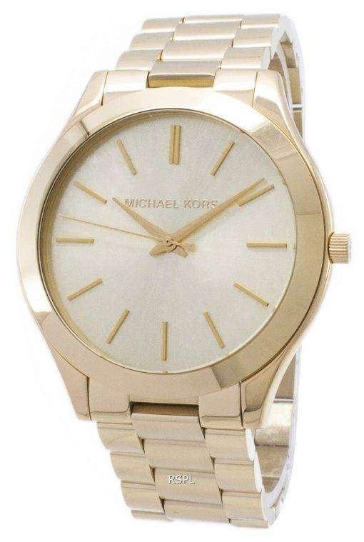 Michael Kors 滑走路シャンパン ダイヤル MK3179 レディース腕時計