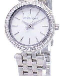 ミハエル Kors 小柄な Darci ステンレス鋼の結晶 MK3294 レディース腕時計