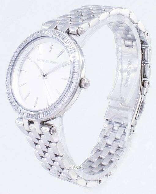 Michael Kors 小柄な Darci シルバー ダイヤル ステンレス鋼 MK3364 レディース腕時計