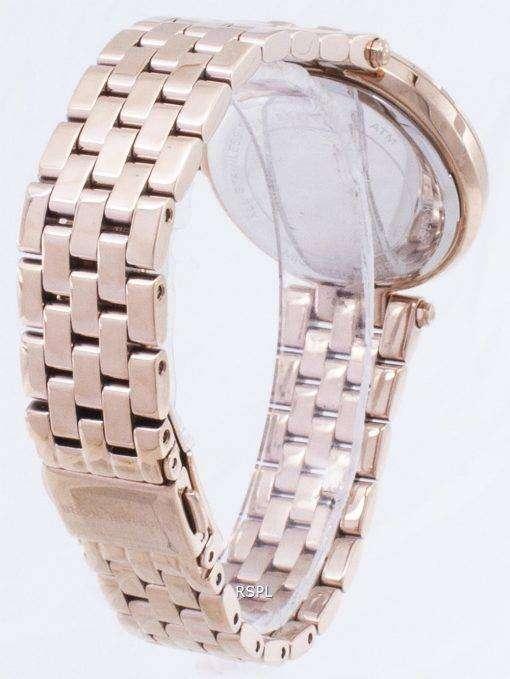 Michael Kors ミニ Darci クリスタル ローズ ゴールド トーン MK3366 レディース腕時計